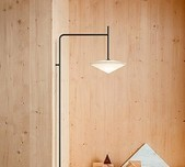 Tempo Angular Opaline Wall Light / 2 Sizes / 4 Finishes