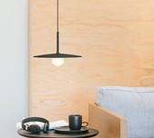 Tempo Classic Small Globe Pendant with Shade / 2 Sizes / 4 Finishes