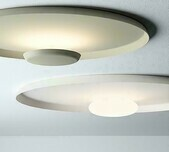 Top Ceiling Light / 2 Sizes / 4 Finishes