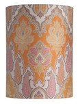 Brocade Cylinder Lampshade / 3 Colours