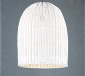 White Weave Pendant / 2 Sizes
