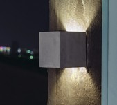 Concrete Square Wall Light