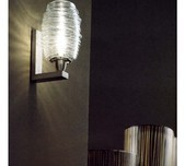 Damasco Wall Light / 2 Sizes / 4 Finishes