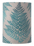 Fern Leaves Cylinder Lampshade / 4 Colours
