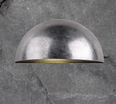 Galvanised Steel Curved Wal Light