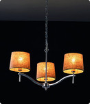 3 Light Shade Chandelier