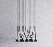 Jewel 10 Light Pendant / 2 Finishes